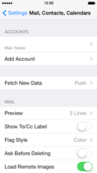 Apple iPhone 5s - E-mail - Manual configuration - Step 29