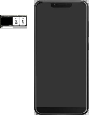 Wiko View 2 Plus - Appareil - comment insérer une carte SIM - Étape 6