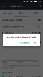 Lenovo Vibe C2 - Rede móvel - Como ativar e desativar uma rede de dados - Etapa 7