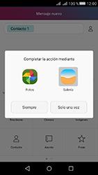 Huawei Y5 II - Mensajería - Escribir y enviar un mensaje multimedia - Paso 15