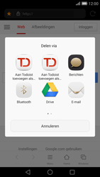 Huawei Ascend Mate 7 4G (Model MT7-L09) - Internet - Hoe te internetten - Stap 16