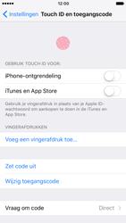 Apple iPhone 7 (Model A1778) - Beveiliging en ouderlijk toezicht - Toegangscode instellen - Stap 5