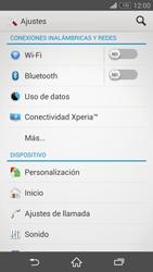 Sony Xperia Z3 - Mensajería - Configurar el equipo para mensajes multimedia - Paso 4