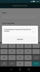 Huawei Ascend G7 - E-mail - Configurar correo electrónico - Paso 11