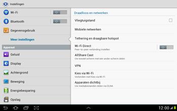 Samsung N8000 Galaxy Note 10-1 - Internet - Internet gebruiken in het buitenland - Stap 7