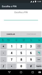 Wiko Rainbow Jam DS - Segurança - Como ativar o código de bloqueio do ecrã -  7