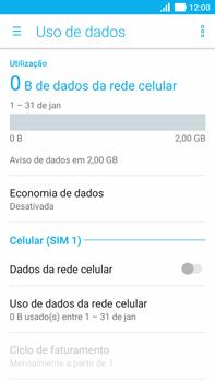 Asus Zenfone 3 - Rede móvel - Como ativar e desativar uma rede de dados - Etapa 6