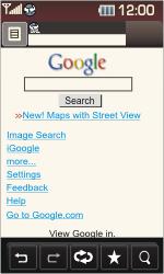 LG KP500 Cookie - Internet - Internet browsing - Step 9