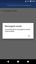Sony Xperia XZ - Android Oreo - Messagerie vocale - configuration manuelle - Étape 12