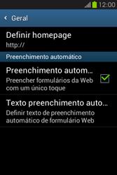 Samsung Galaxy Fame - Internet no telemóvel - Como configurar ligação à internet -  23