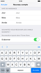 Apple iPhone 6 - Applications - Créer un compte - Étape 16