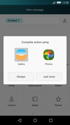 Huawei P8 Lite - MMS - Sending a picture message - Step 14