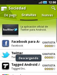 Samsung S5570 Galaxy Mini - Aplicaciones - Descargar aplicaciones - Paso 10