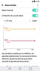 LG K10 (2017) - Internet - Ver uso de datos - Paso 9
