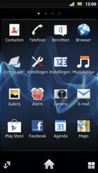 Sony MT27i Xperia Sola - Voicemail - Handmatig instellen - Stap 3