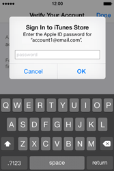 Apple iPhone 4s iOS 8 - Applications - Downloading applications - Step 28