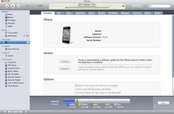 Apple iPhone 4 met iOS 5 - Software - Update installeren via PC - Stap 6
