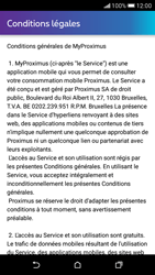 HTC Desire 626 - Applications - MyProximus - Étape 11