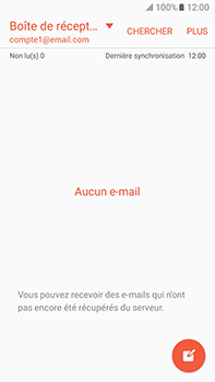 Samsung Galaxy J7 (2016) (J710) - E-mail - Configuration manuelle - Étape 5