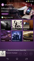 Sony Xpéria Z1 - Photos, vidéos, musique - Ecouter de la musique - Étape 4