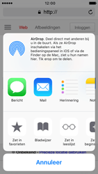 Apple iPhone 5s met iOS 9 (Model A1457) - Internet - Hoe te internetten - Stap 5