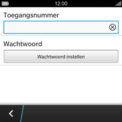 BlackBerry Q5 - Voicemail - Handmatig instellen - Stap 7