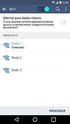 LG K10 - Wi-Fi - Como configurar uma rede wi fi - Etapa 9