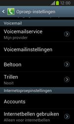 Samsung I9105P Galaxy S II Plus - Voicemail - Handmatig instellen - Stap 6