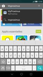 Huawei Ascend G7 - Applications - MyProximus - Étape 5