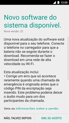Motorola Moto Turbo - Funções básicas - Como atualizar o software do seu aparelho - Etapa 6