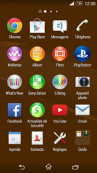 Sony D5803 Xperia Z3 Compact - E-mail - envoyer un e-mail - Étape 2