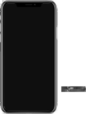 Apple iPhone XR - Primeiros passos - Como inserir o chip da Nextel no seu celular - Etapa 2