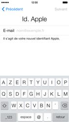 Apple iPhone 5s - Premiers pas - Créer un compte - Étape 15
