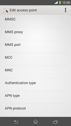 Sony D2303 Xperia M2 - Mms - Manual configuration - Step 11