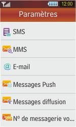 Samsung S5230 Star - E-mail - Configuration manuelle - Étape 5