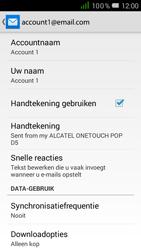 Alcatel One Touch POP D5 (OT-5038X) - E-mail - Instellingen KPNMail controleren - Stap 8