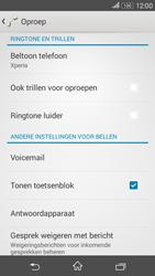 Sony Xperia E4g (E2003) - Voicemail - Handmatig instellen - Stap 5