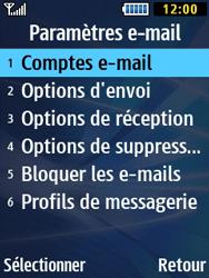 Samsung Solid 271 - E-mails - Ajouter ou modifier un compte e-mail - Étape 25