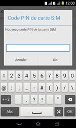 Sony Xpéria E1 Dual - Sécuriser votre mobile - Personnaliser le code PIN de votre carte SIM - Étape 9