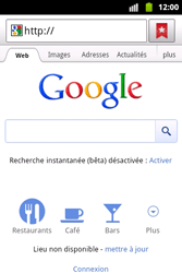 Samsung S5690 Galaxy Xcover - Internet - Navigation sur internet - Étape 4