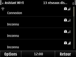 Nokia E6-00 - Wifi - configuration manuelle - Étape 16