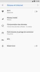 Nokia 8 (SingleSim) - Réseau - Utilisation à l