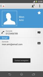 Sony Xpéria M2 - Contact, Appels, SMS/MMS - Ajouter un contact - Étape 14