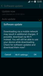 Samsung Galaxy S5 G900F - Network - Installing software updates - Step 8
