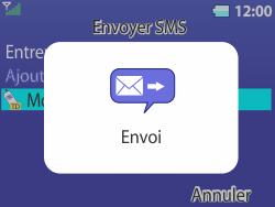 Bouygues Telecom Bc 311 - Contact, Appels, SMS/MMS - Envoyer un SMS - Étape 12
