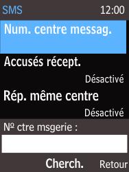 Nokia 220 - SMS - Configuration manuelle - Étape 8