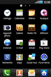 Samsung Galaxy Ace - E-mails - Ajouter ou modifier un compte e-mail - Étape 3