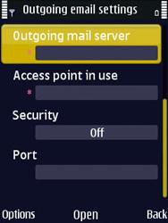 Nokia N86 - E-mail - Manual configuration - Step 26