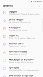 Samsung Galaxy S6 Edge - Android Nougat - Internet no telemóvel - Como ativar 4G -  4