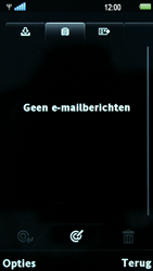 Sony Ericsson U5i Vivaz - E-mail - Hoe te versturen - Stap 5